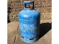Calor Gas Bottle (15kg) and Regulator for gas BBQ