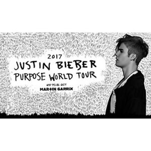 2x A RESERVE Justin Bieber Purpose World Tour Sydney Sydney City Inner Sydney Preview