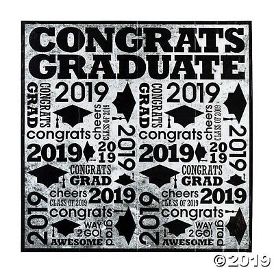 6ft Class of 2019 Graduation Grad Backdrop Banner PHOTO PICTURE BOOTH - Banner Graduation