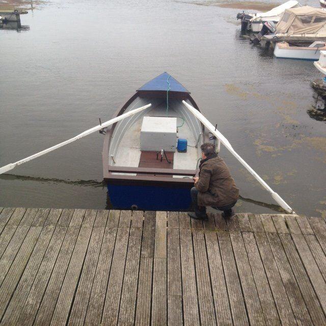 Lough Neagh Fishing Boat