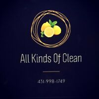 All Kinds Of Clean - Do you need your home or business cleaned?