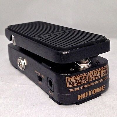 Hotone Bass Press 3 in 1 Vol/Wah/Expression Bass Effects Pedal  888506040023 NEW