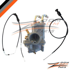 Yamaha-PW-50-PW50-Carburetor-Throttle-Gas-Cable-and-Choke-Cable-1981-2002