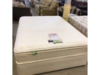Silent Night Memory Foam divan bed with 3 drawers (mattress and base)