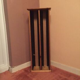 Pine CD Rack - Houses 120 CDs. Great condition