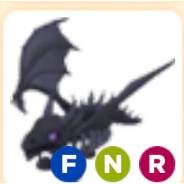Neon Shadow Dragon Roblox Adopt Me - $125.00