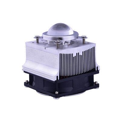 20w 50w 100w Led Aluminium Heat Sink Cooling Fan 44mm Lens Reflector Bracket