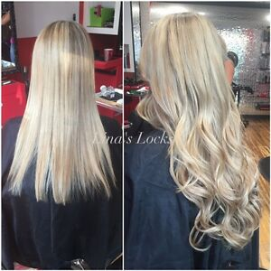 LINA'S LOCKS HAIR EXTENSIONS Fusion | Tape | Microlinks | Nano London Ontario image 4