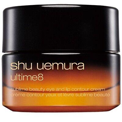 Shu Uemura ultime8 Sublime Beauty Eye and Lip contour cream 15g NIB Japan