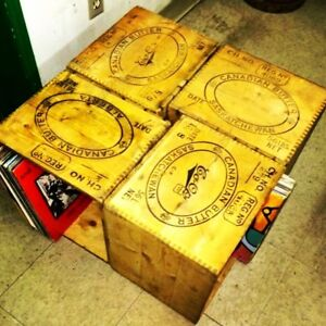 "BUTTER CRATES  ""What's in Your Vinyl Storage"""