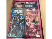 Monster High DVD Friday Night Frights/Why do Ghouls fall in Love