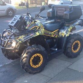 2011 CAN AM OUTLANDER 800 £6500 TODAY on road