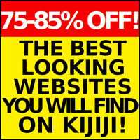 Best-looking, modern websites on Kijiji! See for yourself!