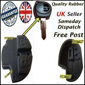 2 Button RUBBER PAD Key Remote Fob 4 Suzuki GRAND VITARA SWIFT SPLASH SX4 JIMNY