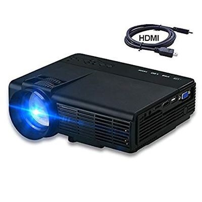 DIHOME 2017 HD MULTIMEDIA LED PROJECTOR DHP5 BRAND NEW IN BOX