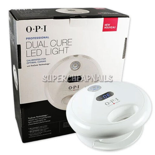 OPI Dual Cure LED Light Professional Nail Lamp GL902 110V-240V US BRAND NEW NIB