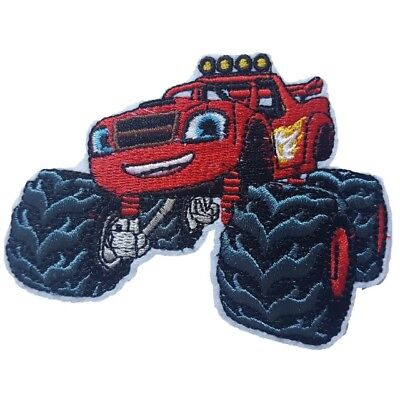 Blaze and the Monster machines Iron On Patch Sew on Embroidered transfer