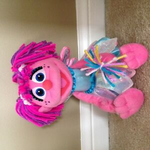 "*SOLD* Abby Cadabby (Sesame Street) 12"" plush doll"