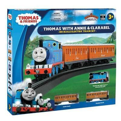 Bachmann 00642BE Thomas Con Annie y Clarabel 00 Escala Eléctrico Tren Juego...