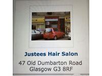 Hairdresser Shop for Rent at Old Dumbarton Road