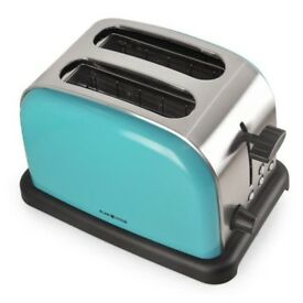 Brand new stainless steel 2-slice toaster
