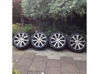 VW T5 TRANSPORTER 20 INCH WHEELS/TYRES FOR SALE
