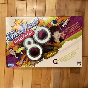 Totally 80's Trivial Pursuit Game Hasbro Parker Brothers Edition