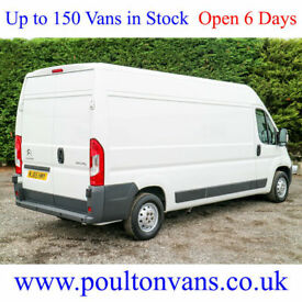 2015 (65) CITROEN RELAY 35 ENTERPRISE L3H2 LWB HIGH ROOF PANEL VAN 130BHP
