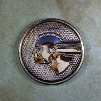 Vintage Style Car Emblem Photo Fridge Magnet 2 1/4