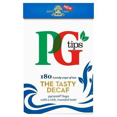 - PG Tips Decaf 180 Tea Bags - Decaffeinated Tea Bags