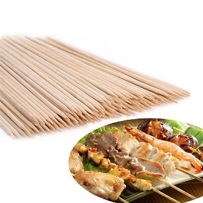 Party Skewers (25cm 150 Bamboo Skewers Sticks BBQ Barbecue Party Grill Kebab Shish Fruit)