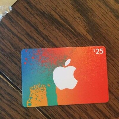 25 App Store   Itunes Gift Card