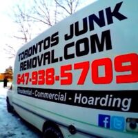 Toronto's Junk Removal , Demolition and  Power Wash Services !!