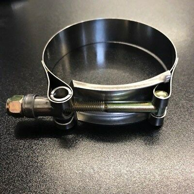 54-62 mm Heavy Duty T Bolt Turbo Boost Pipe Hose Clamp Stainless Turbocharger 2