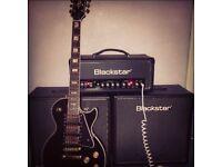 Epiphone Les Paul black beauty guitar