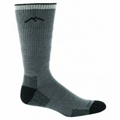 DARN TOUGH VERMONT - MEN'S COOLMAX CUSHION BOOT SOCK, Charcoal, Med, NEW ()