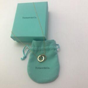 Authentic Tiffany & Co 18k gold interlocking necklace Melbourne CBD Melbourne City Preview
