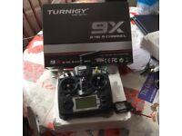 turnigy 9ch radio set