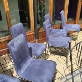 6 dinning room chairs not table it is listed separate
