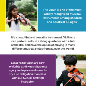 Violin Lessons in Markham and Richmond Hill