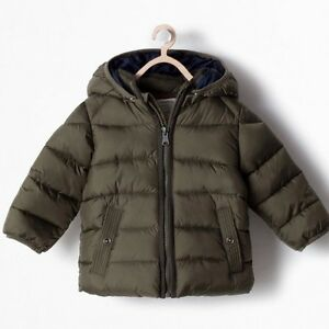 ZARA Boys Padded Winter Jacket 3-6 months (68cm) - LIKE NEW!