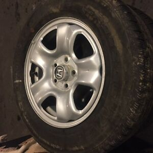 16 inch rims and tires low kms
