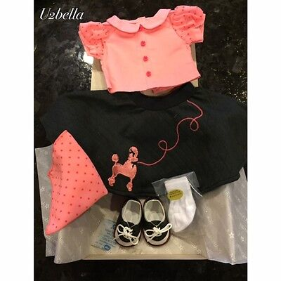 AMERICAN GIRL DOLL MARYELLEN'S POODLE SKIRT SET OUTFIT NEW IN BOX! on Rummage