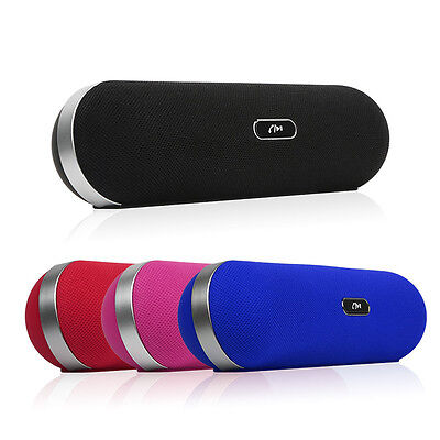 Portable Shockproof Wireless Bluetooth Stereo Speaker For Smartphone MP4 Player