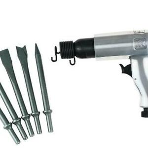Ingersoll-Rand 116K Pnuematic Hammer with 5 piece chisel Kit