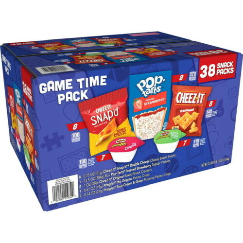 Kellogg's Game Time Snacks, Variety Pack (38 Pack) Great Item! Great Value!!