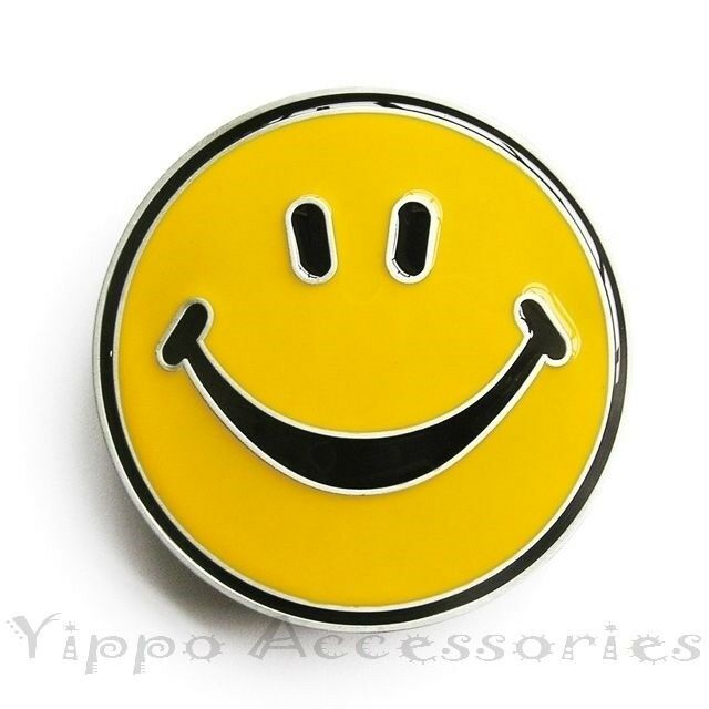 Smile Face Novelty Smiley Metal Fashion Belt Buckle