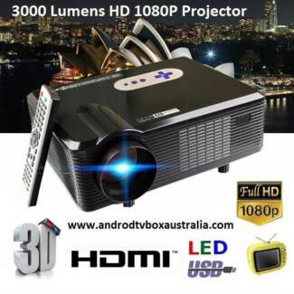 3000LM HD Projector Multimedia Home Cinema Theatre HDMI/USB/SD