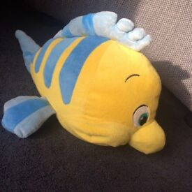 Disney The Little Mermaid Flounder plush