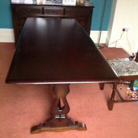 Original Priory Jacobean dining table